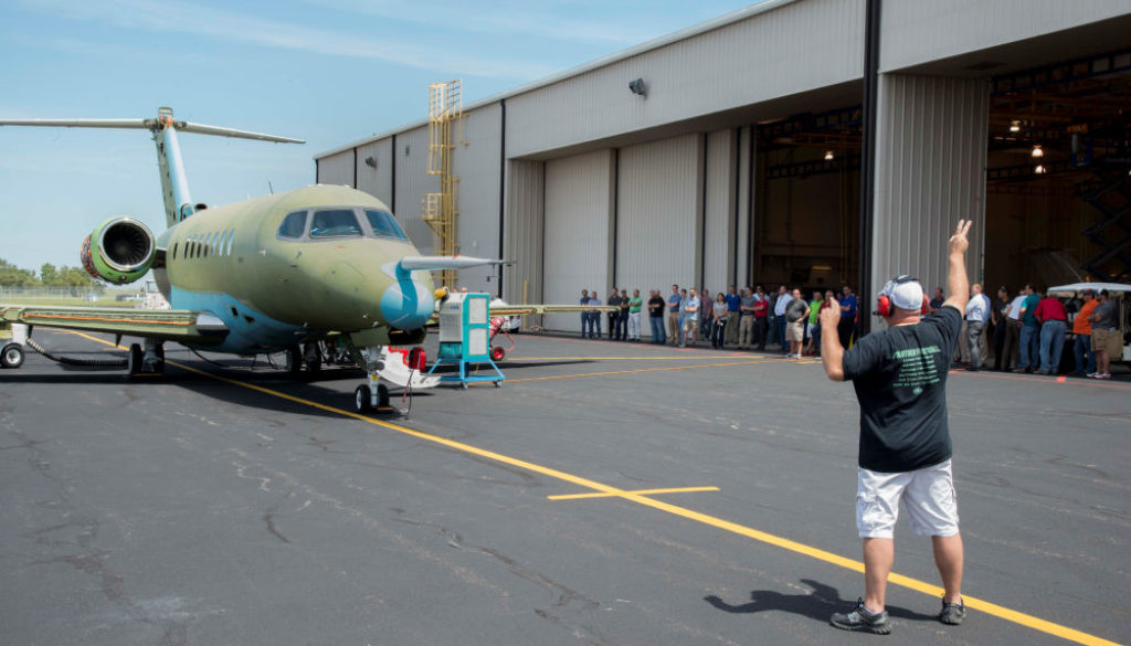 Engine run 1 Cessna Citation Longitude moves closer to first flight with ground engine tests